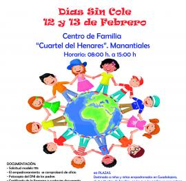 Días sin cole (12 y 13 de febrero en Guadalajara)